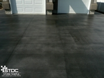 broomed concrete