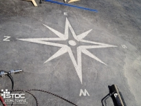 cement color staining