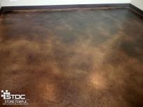 concrete floor coloring