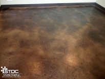 concrete floor coloring
