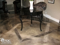 concrete flooring etching