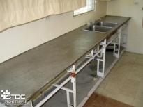 building a concrete countertop