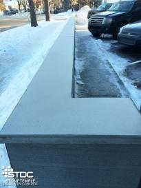 pre-cast concrete ledgetop