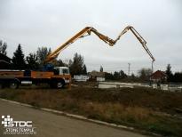 pouring concrete foundations