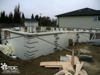icf concrete foundation footings forms