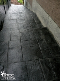 gorgeous concrete steps