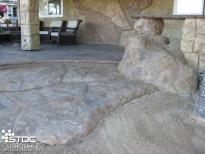 concrete realistic stones