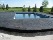 stunning pool deck