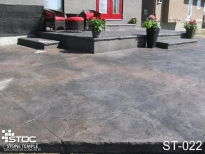 stamped concrete ST-022