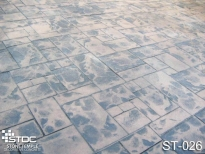 stamped concrete ST-026