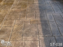 stamped concrete ST-038