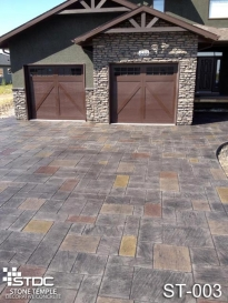 stamped concrete ST-003
