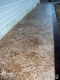 stamped concrete ST-012