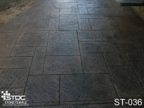 stamped concrete ST-036