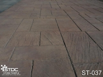stamped concrete ST-037