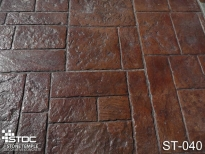 stamped concrete ST-040