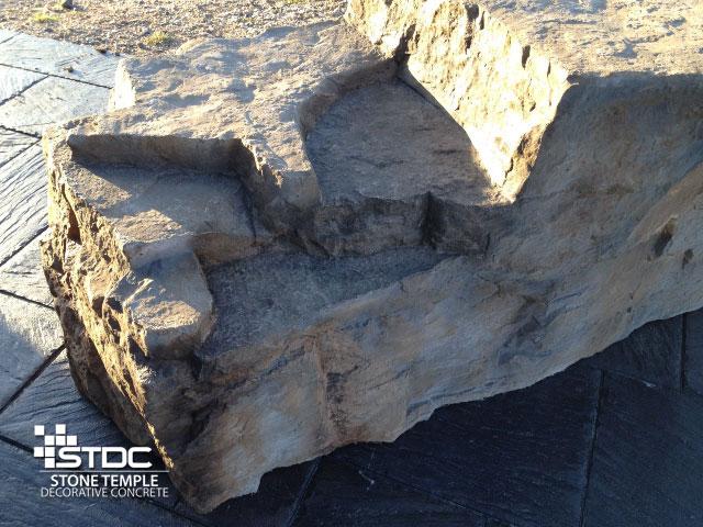 Hand Built, Natural-Looking Boulders
