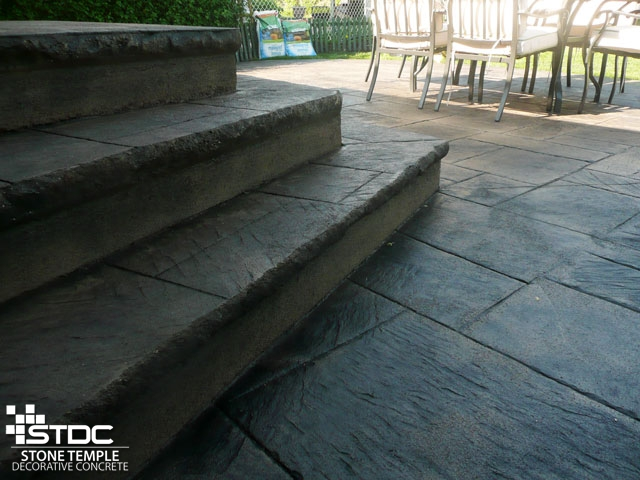 Custom Concrete Stair Building